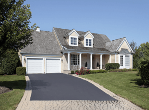 smooth driveway residential