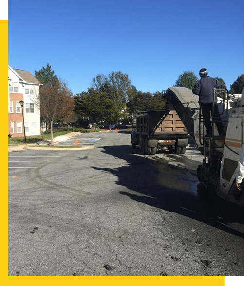 residential and commercial paving in Frederick MD
