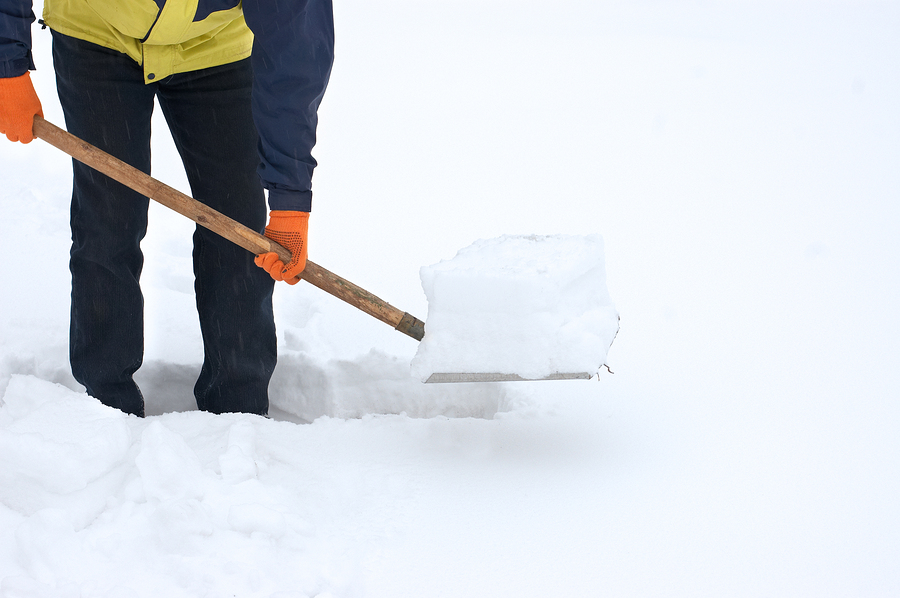 Sidewalk and walkway snow removal services by Limitless Paving & Concrete in Frederick, Maryland