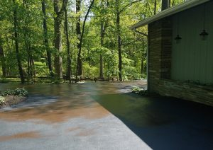 taking care of an asphalt driveway