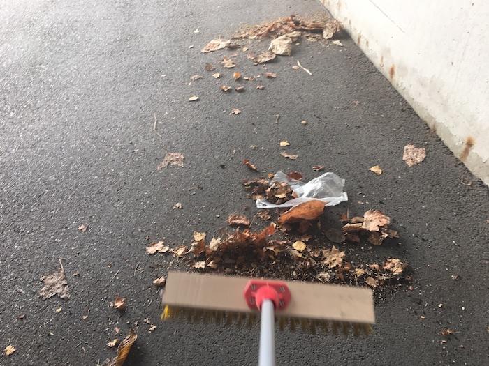 maintain a clean driveway