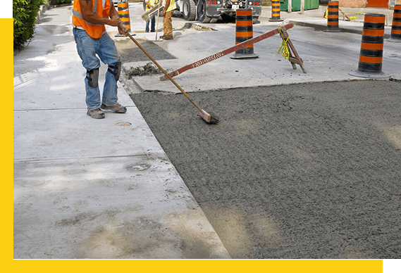 CONCRETE INSTALLATION Contractor