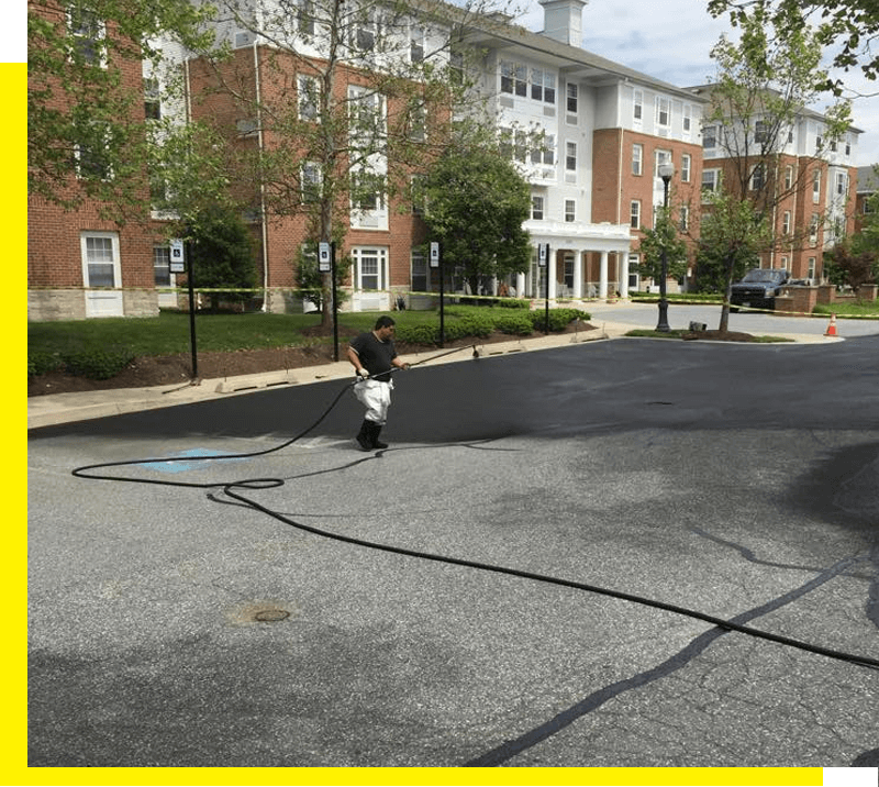 Asphalt Sealcoating in Frederick, MD 3