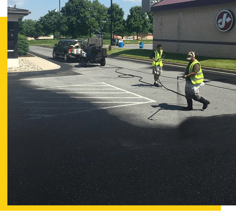 Asphalt Sealcoating in Frederick, MD 2