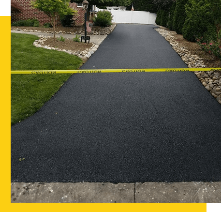 Asphalt Sealcoating in Frederick, MD 1