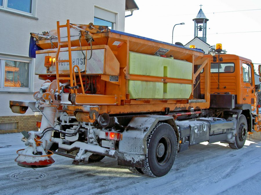 Snow Removal and Sanding truck Bethesda