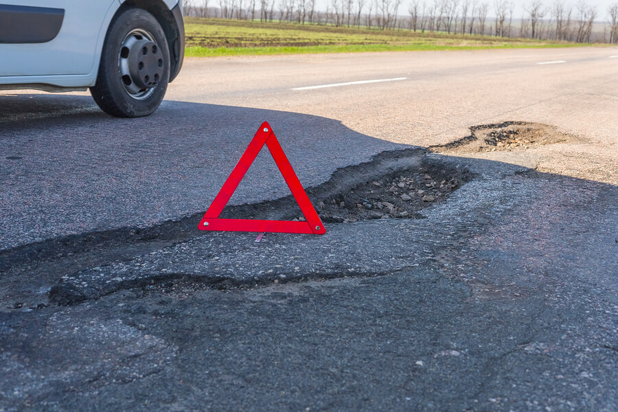 pothole repair Frederick, MD