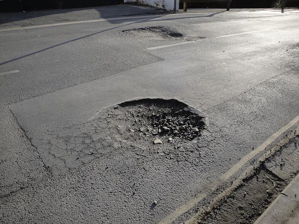 pothole repair asphalt contractor