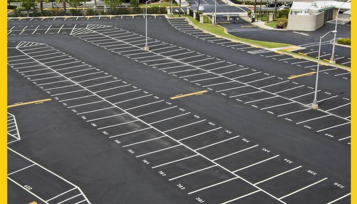 Commercial Asphalt Parking Lot Management