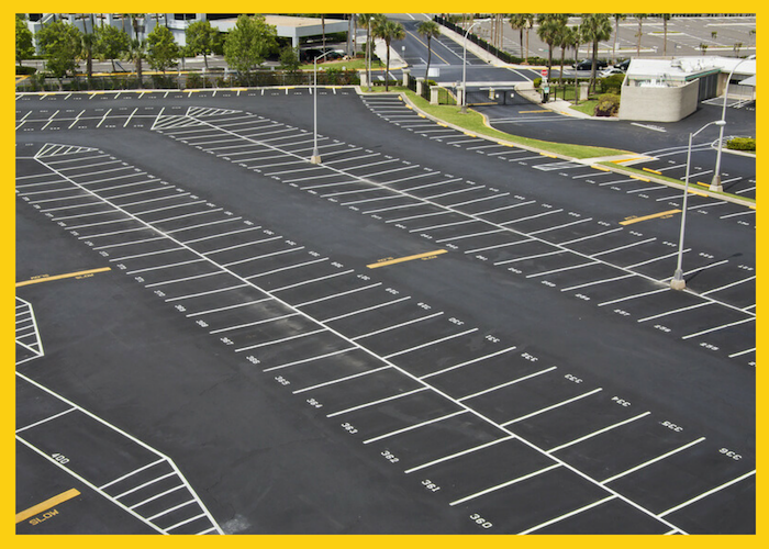 Commercial Asphalt Parking Lot Management
