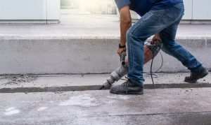 how to properly use a jackhammer