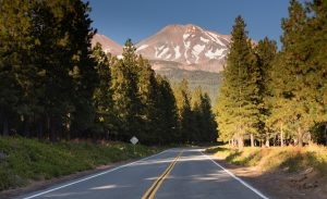 Mount Shasta Shastina Cascade Range California National Forest