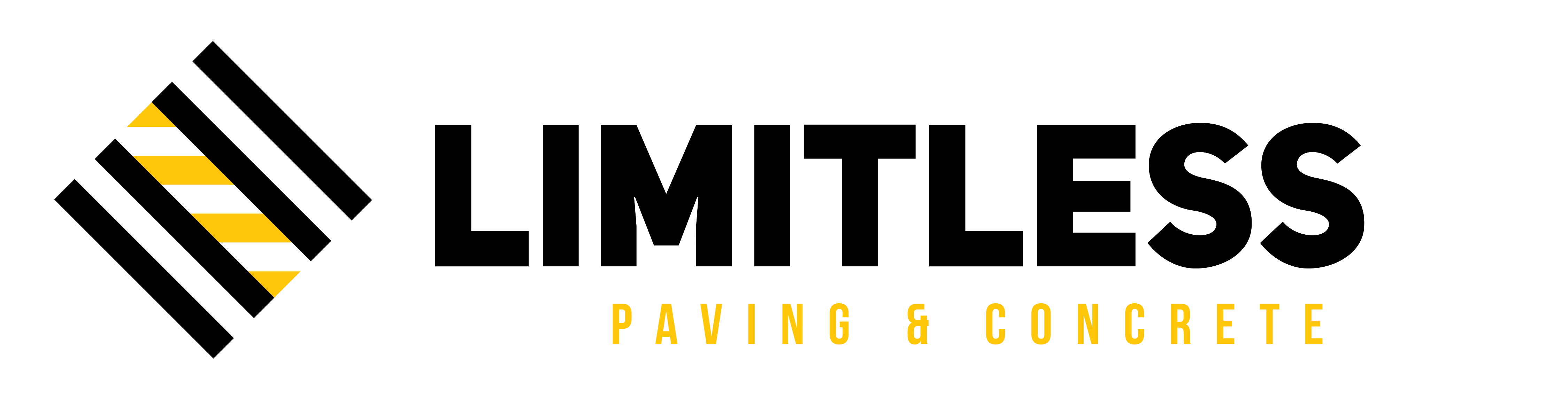 Limitless Paving & concrete logo