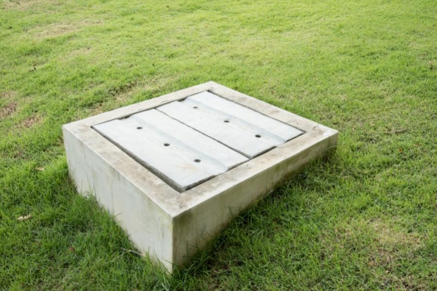 concrete catch basin