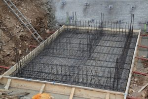 reinforced concrete as types of building foundations