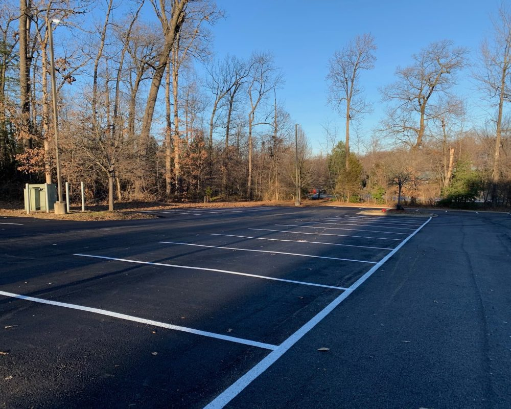 maryland parking lot painting services